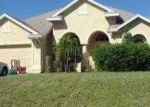 Foreclosed Home in Cape Coral 33991 SW 15TH PL - Property ID: 3419626225