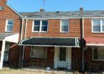 Foreclosed Home in Baltimore 21218 MONTEREY RD - Property ID: 3548036707