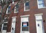 Foreclosed Home in Baltimore 21205 N LUZERNE AVE - Property ID: 3624596303