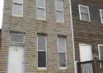 Foreclosed Home in Baltimore 21223 S MONROE ST - Property ID: 3651277690