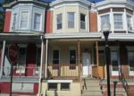 Foreclosed Home in Baltimore 21223 N PULASKI ST - Property ID: 3824900203
