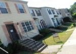 Foreclosed Home in Suitland 20746 SILVER PARK TER - Property ID: 4019317307