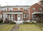 Pre Foreclosure in Baltimore 21239 WOODBOURNE AVE - Property ID: 1286511550