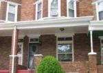 Pre Foreclosure in Baltimore 21216 N BENTALOU ST - Property ID: 1321685684