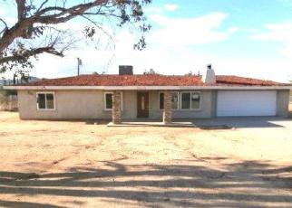 Foreclosed Home in Yucca Valley 92284 DELANO TRL - Property ID: 3332631913