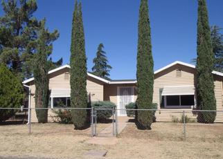 Foreclosed Home in Mayer 86333 E BOB WHITE RD - Property ID: 3420346704