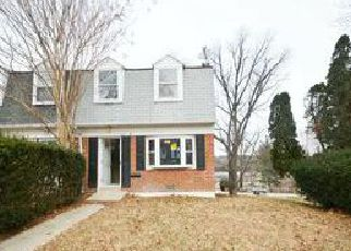 Foreclosed Home in Baltimore 21239 LIMIT AVE - Property ID: 4010879749