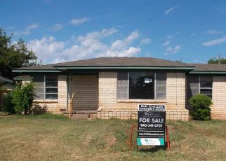 Foreclosed Home in Iowa Park 76367 N PARK AVE - Property ID: 4199060975