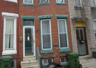 Foreclosed Home in Baltimore 21217 N MOUNT ST - Property ID: 4310663750