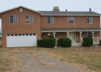 Foreclosed Home in Edgewood 87015 V HILL RD - Property ID: 4317854398