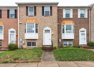 Foreclosed Home in Gaithersburg 20879 KNOLL MIST LN - Property ID: 4326337520