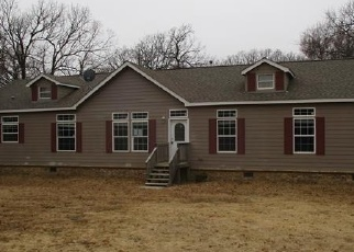 Foreclosed Home in Kiowa 74553 BUFF RD - Property ID: 4328886977