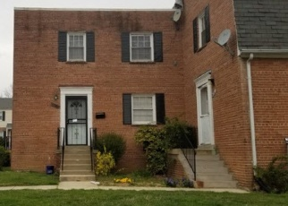 Foreclosed Home in Temple Hills 20748 IVERSON ST - Property ID: 4329864976