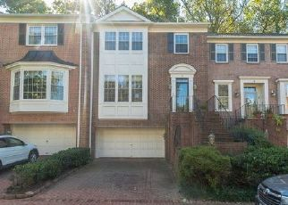 Foreclosed Home in Bethesda 20814 MAPLEWOOD PARK CT - Property ID: 4334299899