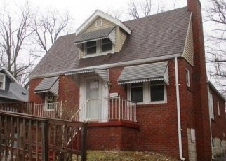 Foreclosed Home in Saint Louis 63130 MILAN AVE - Property ID: 4338889415
