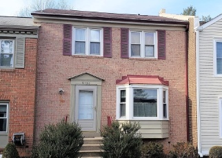 Foreclosed Home in Gaithersburg 20879 BOBWHITE CIR - Property ID: 4342417744