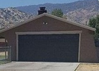Foreclosed Home in Lake Isabella 93240 STEENSEN ST - Property ID: 4365991237