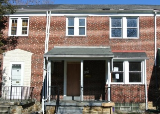 Foreclosed Home in Baltimore 21218 LOCHWOOD RD - Property ID: 4379039815