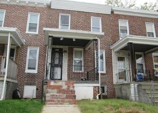 Foreclosed Home in Baltimore 21213 LYNDALE AVE - Property ID: 4385188526