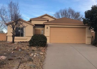 Foreclosed Home in Prescott Valley 86315 N KNOLLWOOD WAY - Property ID: 4393342729