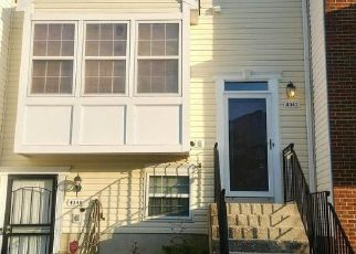 Foreclosed Home in Suitland 20746 APPLEGATE LN - Property ID: 4395058263