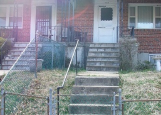 Foreclosed Home in Baltimore 21229 MOUNTWOOD RD - Property ID: 4395710407