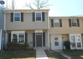 Foreclosed Home in Waldorf 20603 EAGLE CT - Property ID: 4396357743