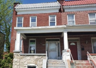 Foreclosed Home in Baltimore 21215 W ROGERS AVE - Property ID: 4397188575