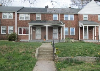 Foreclosed Home in Baltimore 21239 MARBLE HALL RD - Property ID: 4398704398