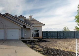 Foreclosed Home in Los Lunas 87031 JUNIPER AVE - Property ID: 4399175663