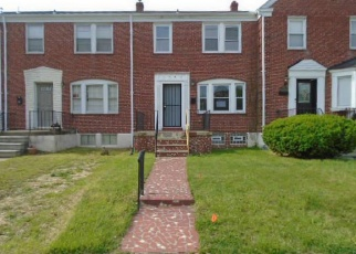 Foreclosed Home in Baltimore 21239 WOODBOURNE AVE - Property ID: 4401728164