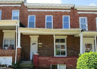 Foreclosed Home in Baltimore 21213 ELMORA AVE - Property ID: 4406319455