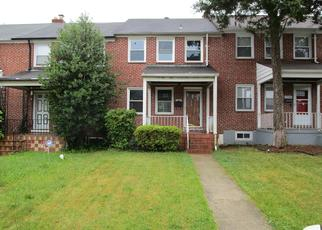 Foreclosed Home in Baltimore 21239 SILVERTHORNE RD - Property ID: 4406350552