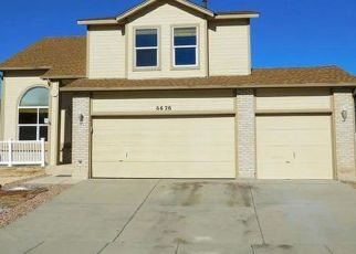 Foreclosed Home in Fountain 80817 CAMINO DEL REY - Property ID: 4407772205
