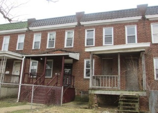 Foreclosed Home in Baltimore 21215 ARCADIA AVE - Property ID: 4408787437