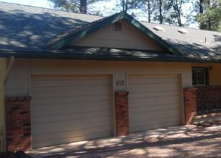 Foreclosed Home in Pinetop 85935 E PINECREST DR - Property ID: 4409751417