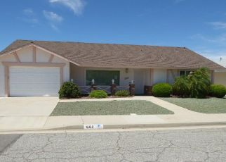 Foreclosed Home in Hemet 92543 PALOMAR DR - Property ID: 4411384627