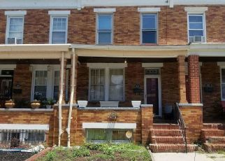 Foreclosed Home in Baltimore 21213 DUDLEY AVE - Property ID: 4412245686