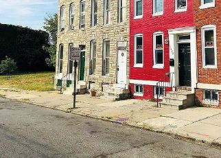 Foreclosed Home in Baltimore 21217 N MOUNT ST - Property ID: 4417492611