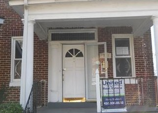 Foreclosed Home in Baltimore 21215 RIDGEWOOD AVE - Property ID: 4418764936