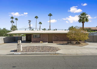Foreclosed Home in Palm Desert 92260 PANORAMA DR - Property ID: 4420251856