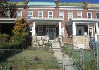 Foreclosed Home in Baltimore 21215 RIDGEWOOD AVE - Property ID: 4420449816