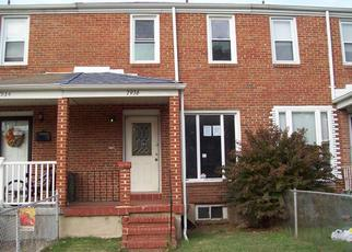 Foreclosed Home in Dundalk 21222 SAINT BRIDGET LN - Property ID: 4420458118