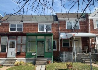 Foreclosed Home in Baltimore 21224 BROENING HWY - Property ID: 4424462526