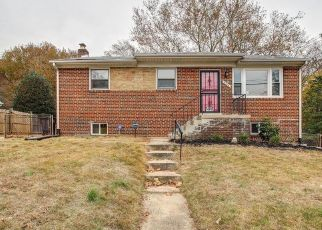 Foreclosed Home in District Heights 20747 REDVIEW DR - Property ID: 4433915762