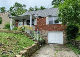 Foreclosed Home in Pittsburgh 15235 CLAY DR - Property ID: 4435769254
