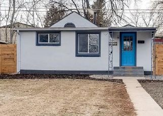 Foreclosed Home in Denver 80219 W GILL PL - Property ID: 4441884250