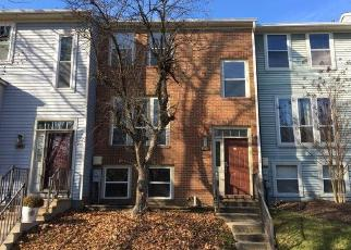Foreclosed Home in Ellicott City 21043 WOODED GLEN CT - Property ID: 4443527984