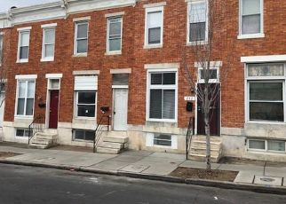 Foreclosed Home in Baltimore 21224 N ELLWOOD AVE - Property ID: 4446401972