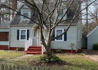Foreclosed Home in Newport News 23601 HOWARD CT - Property ID: 4450272332